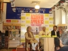 At Crosswords Mumbai with Anil Dharker and Irrfan Khan, February 2, 2013