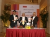 Launching The Accidental Apprentice in Bangalore with Sumeet Shetty and Subroto Baghchi of Mindtree, February 3, 2013