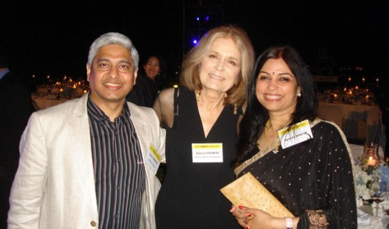 It was a privilege to meet Gloria Steinem, feminist, author and activist in Seoul, May 25, 2011