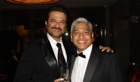 London Premiere of Slumdog Millionaire - with Anil Kapoor, October 30, 2008