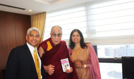 Meeting the incredible Dalai Lama in Osaka, November 30, 2011