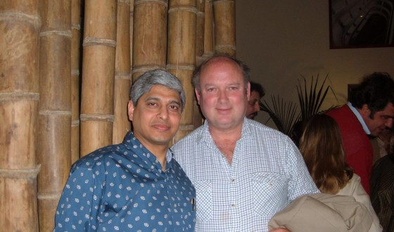 With Louis de Berniers in Turin, May 6, 2005